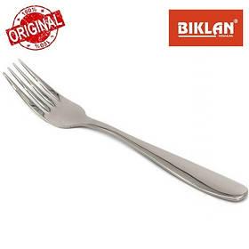 """Вилка фруктова """"Гладь"""" BIKLAN (полірована нержавіюча сталь, 6 шт. в упаковці), арт. 304109"""