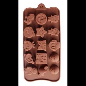 """Силиконовая форма для конфет """"Ассорти"""" арт. 840-64"""