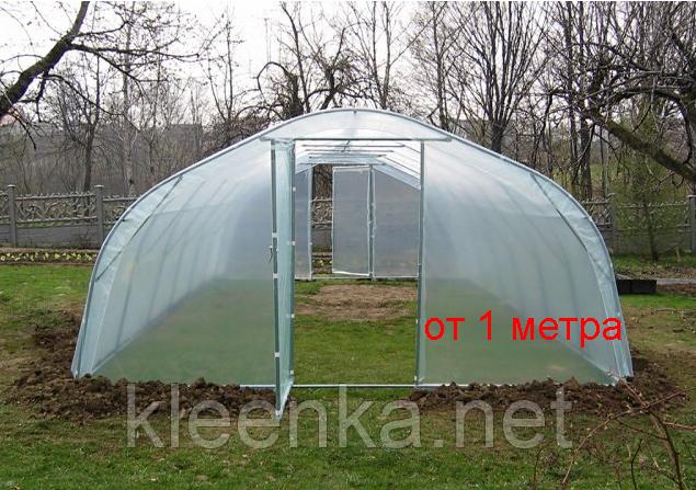 Пленка полиэтиленовая прозрачная для теплиц, сельского хозяйства в рулонах 200 мкм, 3 м ширина