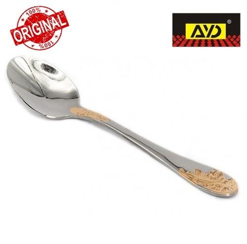 """Ложка кавова """"Золота гілка"""" AYD (полірована нержавіюча сталь, 6 шт. в упаковці)162508"""