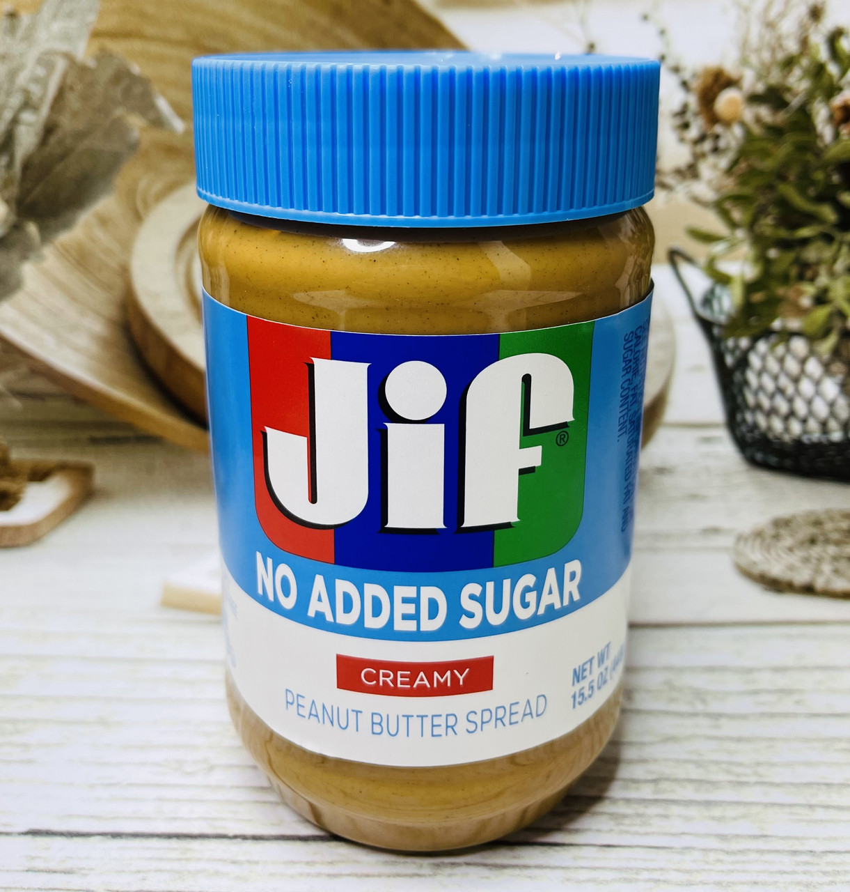 Арахисовая паста без сахара и глютена JIF Creamy