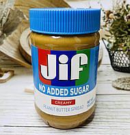 Арахисовая паста без сахара и глютена JIF Creamy, фото 1