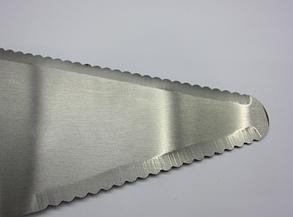 Нож для пиццы с лопаткой (диаметр 6 см, длина лопатки 15,5 см, нержавеющая сталь), арт. 14-6, фото 2
