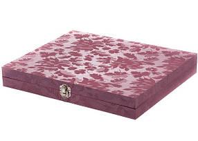 Подарочная деревянная коробка для столовых приборов арт, 391250