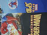 """Комплект постільної білизни """"Людина - павук 2"""", ранфорс, фото 3"""