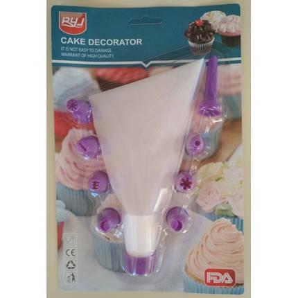 """Форма разъёмная для торта """"Квадрат"""" (высота 12 см, размер от 15 до 28 см) арт. 810081, фото 2"""