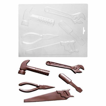 """Пластиковая форма для шоколада """"Инструменты"""" арт. ВК02062056, фото 2"""