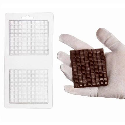 """Пластиковая форма для шоколада """"Прямоугольная"""" арт. ВК02062067, фото 2"""