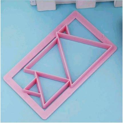 Кондитерская форма для украшения (плунжер) B9933-2 арт. 822-7-31, фото 2
