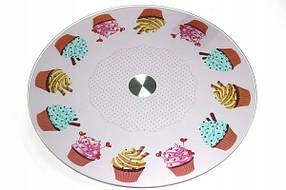 Стеклянная подставка для торта Ø30 см арт. 860-21630