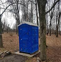 Туалетная кабина с пластиковым поддоном биотуалет