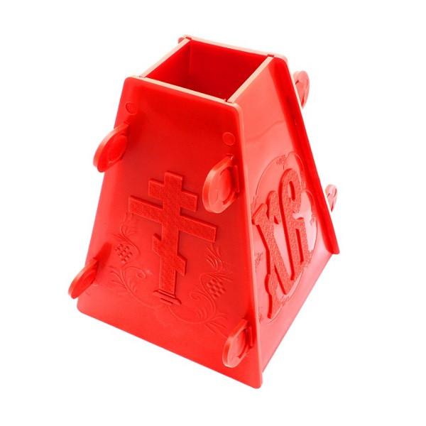 Форма пластиковая для творожной пасхи большая арт. 52294