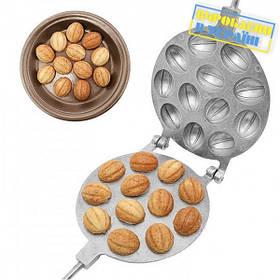 """Форма для выпечки печенья """"Орешки 12"""" арт. 123225"""
