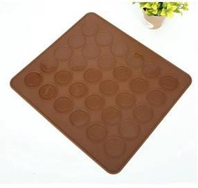 Силиконовый коврик для выпечки макаронс (29х26 см) арт. 870-501062