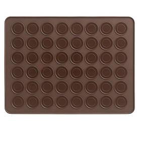 Силиконовый коврик для выпечки макаронс (39х28.5 см) YH-137 арт. 830-15А-20