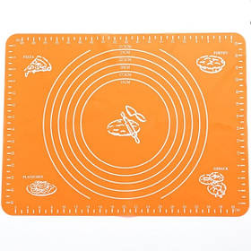 Силиконовый коврик для раскатки теста (40 х 30 см)  YH-312A арт. 830-15А-28