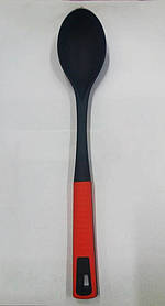 Ложка поварская прорезиненная 24.5 см N10-3 арт. 822-1-16