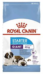 Корм для цуценят Royal Canin (Роял Канін) GIANT STARTER для гігантських порід до 2 місяців (для годуючих та вагітних сук), 15 кг