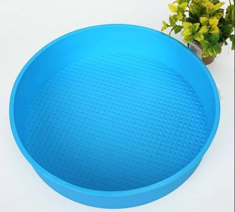 Силіконова форма для випічки кругла Ø 20.5 см YH-255 арт. 830-15A-6, фото 2