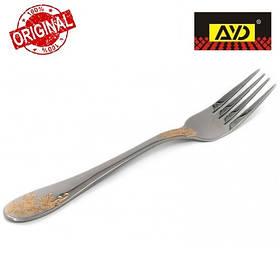 """Вилка десертна """"Золота гілка"""" AYD (нержавіюча сталь, 6 шт. в упаковці), арт. 162506"""