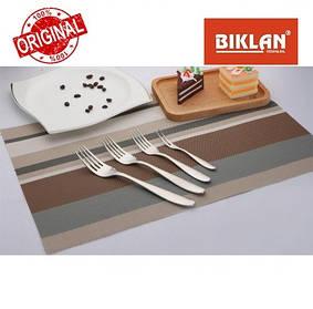 """Вилка столова """"Гладь"""" BIKLAN (нержавіюча сталь, 6 шт. в упаковці), арт. 304102"""