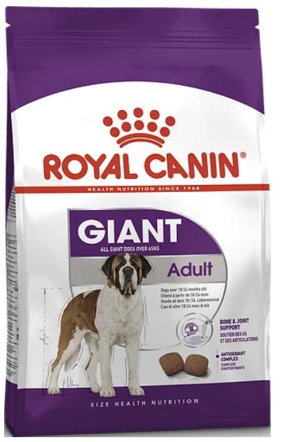 Корм для собак Royal Canin (Роял Канін) GIANT ADULT для гігантських порід віком 18-24 місяців 15 кг