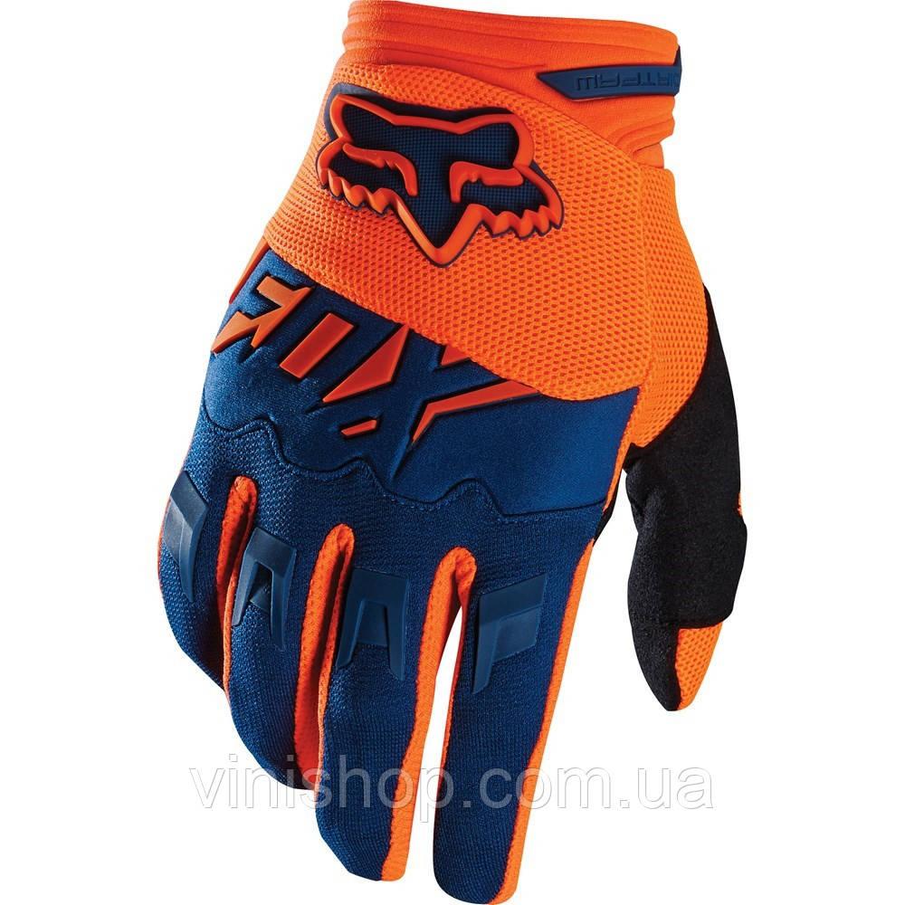 Мото рукавички. вело, квадро, ендуро, крос рукавички FOX
