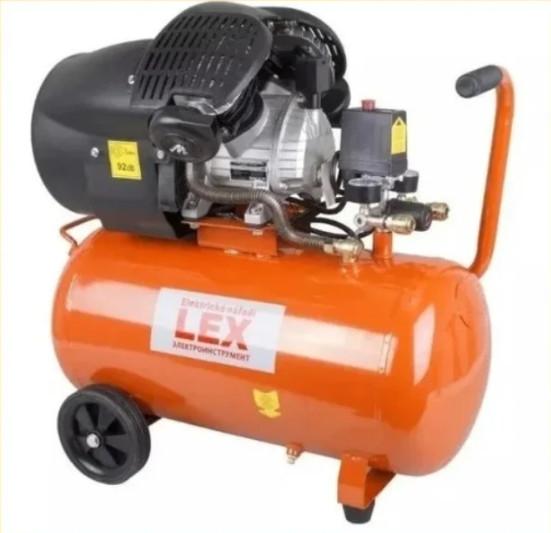 Компресор поршневий LEX LXC100V - 100л ( 3,3 кВт _ Чавунний блок )