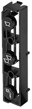 5913210191 Клавіші управління(1 чашка, 2 чашки, окроп), ESAM5500, DeLonghi