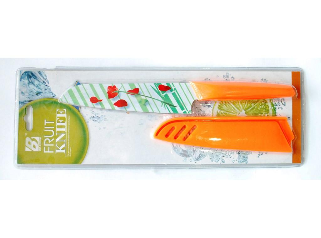 Ніж кухонний у пластиковому чохлі метало кераміка FRUIT KNIFE