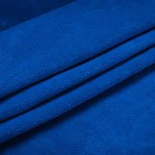 Ткань Стрейч Велюр, синий