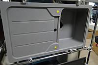 Гранитная мойка Schock Formhaus D100 серый металлик