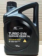Масло моторное Hyundai Kia Turbo SYN 5W-30 бензин 4 л. (05100-00441), фото 1