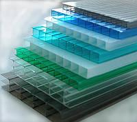 Поликарбонат сотовый SUNNEX 6 мм (цветной)