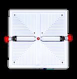 Свiтлодiодний свiтильник VARGO  квадрат, потужність 12W, 175-265V з регульованими кліпсами (111780), фото 2