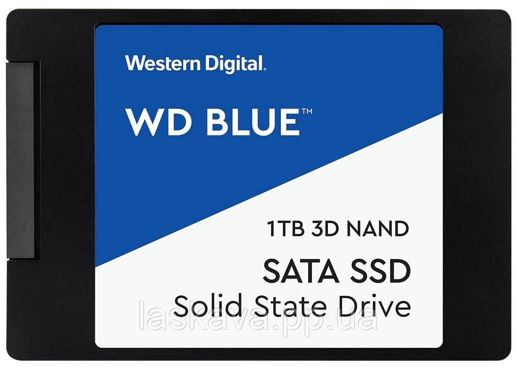 "SSD накопитель WD Blue 3D NAND 1TB 2.5"" SATAIII (WDBNCE0010PNC) Siamo"