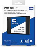 "SSD накопитель WD Blue 3D NAND 1TB 2.5"" SATAIII (WDBNCE0010PNC) Siamo, фото 4"