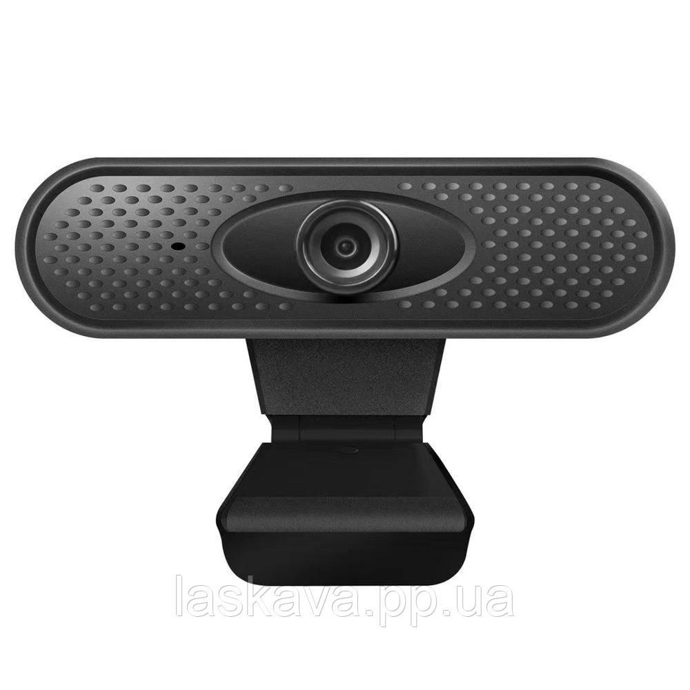 Веб камера с микрофоном DL01 Full HD Black (6148) Siamo