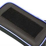 Велосипедна сумка B-Soul з відділенням для телефону на раму Blue, фото 9