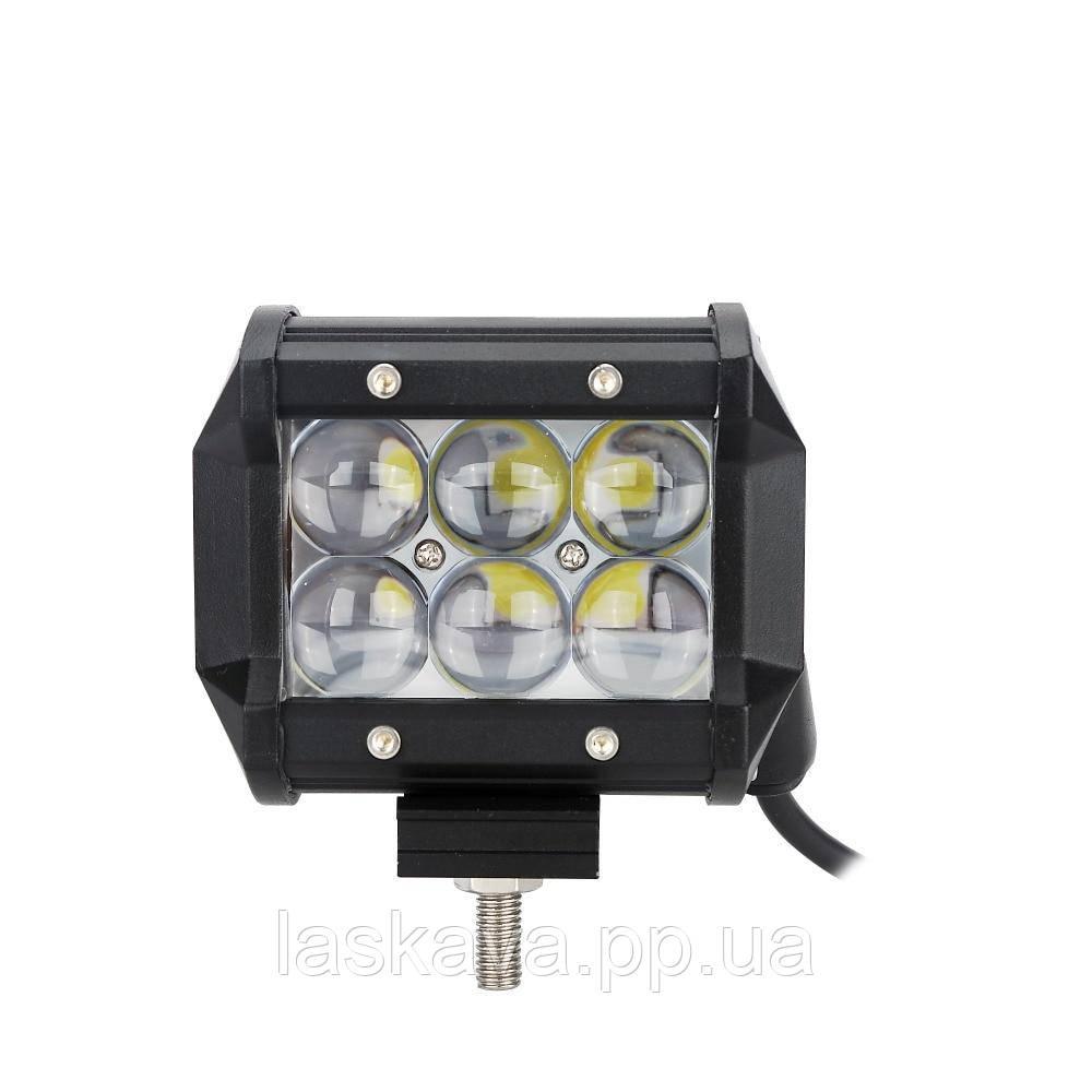 Автофара балка  LED на крышу (6 LED) 5D-18W-SPOT (12956) Siamo