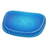 Гелевая ортопедическая подушка для сидения Egg Sitter + чехол (6724) Siamo, фото 4