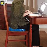 Гелевая ортопедическая подушка для сидения Egg Sitter + чехол (6724) Siamo, фото 6