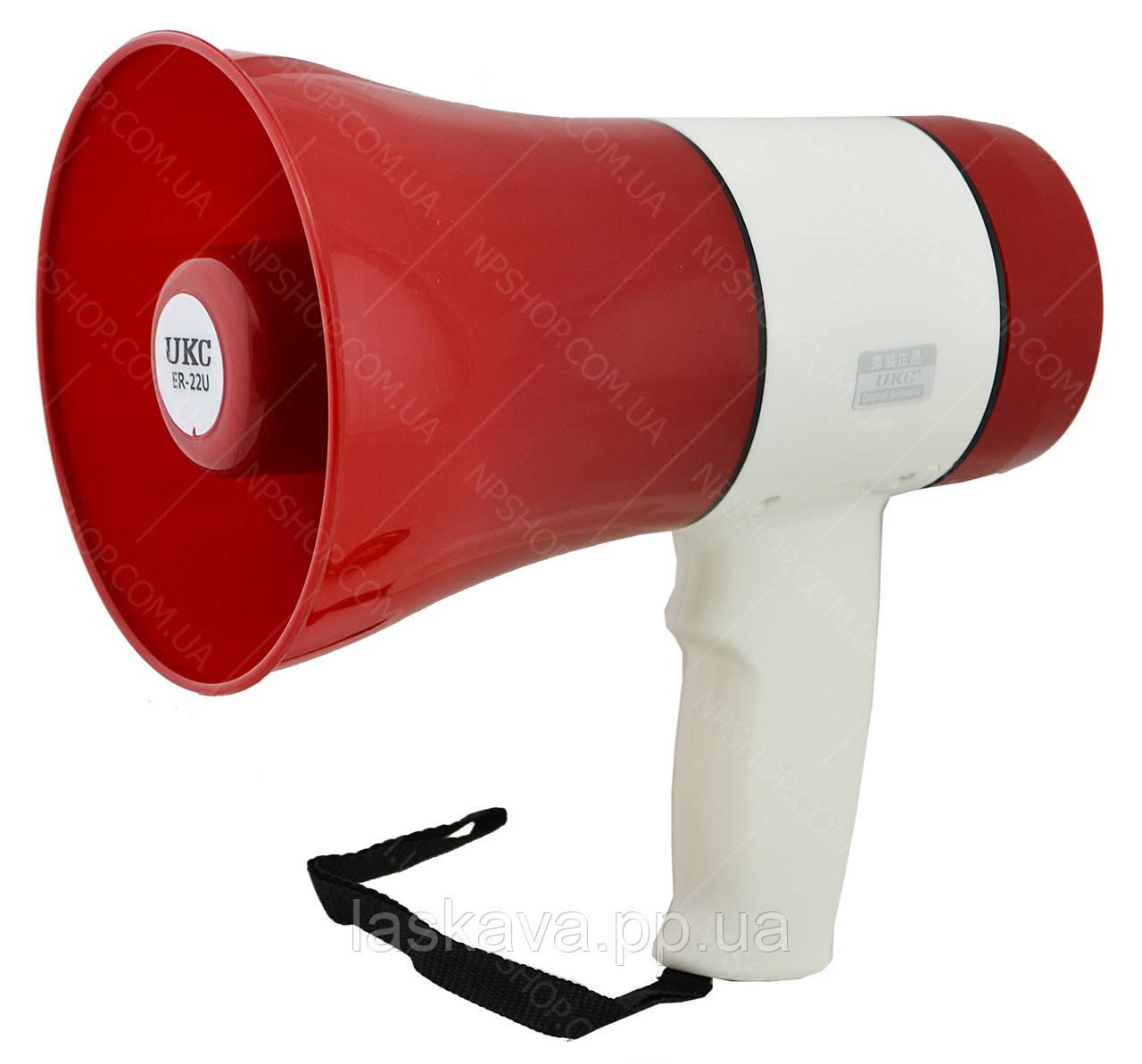 Гучномовець (рупор) UKC ER-22U Red (5147)