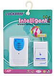 Бездротовий дверний дзвінок від батарейок Luckarm Intelligent 8203 (7689), фото 4