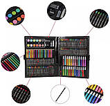 Набор для детского творчества в чемодане из 228 предметов (14514) Siamo, фото 3