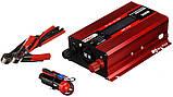 Перетворювач UKC авто інвертор 12В-220В 500W LCD KC-500D + USB Red (3738), фото 3