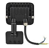 Прожектор LED c датчиком движения Ritar RT- FLOOD/MS 10A 10W IP65 1000Lm Black (01202) Siamo, фото 3