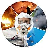 Противопожарная маска на 30 минут (противогаз, респиратор) Sheng An TZL 30 (6677), фото 10