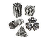 Неокуб Neocube 216 шариков 4мм в металлическом боксе серебристый (13428) Siamo, фото 5