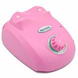 Профессиональный фрезер Beauty Nail Master DM-208 для маникюра педикюра 30W розовый (4386) Siamo, фото 4